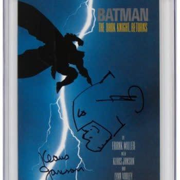 Frank Miller Signed & Sketched Dark Knight #1 On Auction On Heritage