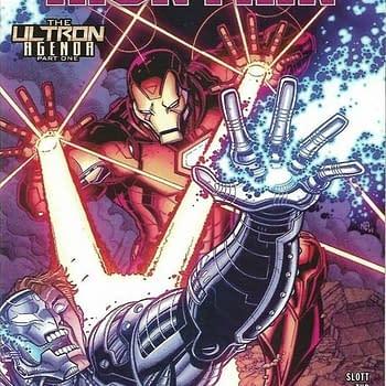 Tony Stark Iron Man #16 Walmart Variant Coverariant Covers