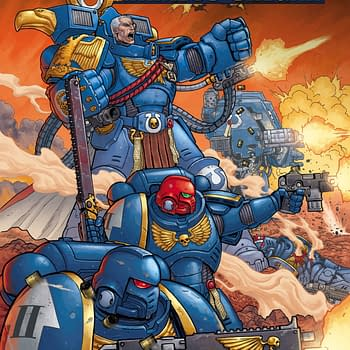 Kieron Gillen and Jacen Burrows Create Warhammer 40K Comics For Marvel