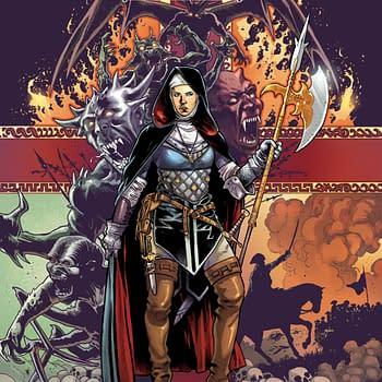 Warrior Nun Goes All-Ages On Kickstarter Thanks to Netflix