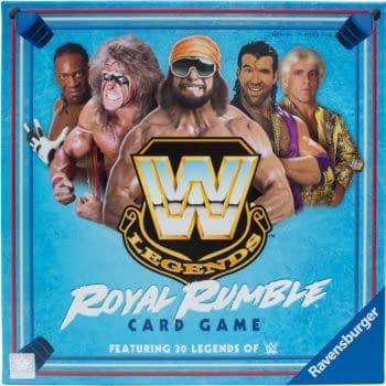 Ravensburger Announces WWE Legends Royal Rumble Card Game
