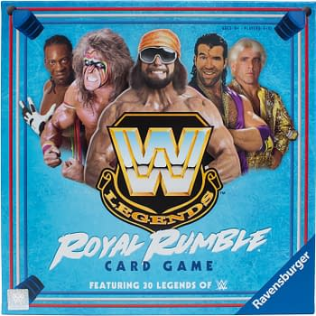 Ravensburger Announces WWE Legends Royal Rumble Card Game