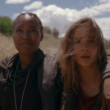 WARRIOR NUN (L to R) TOYA TURNER as SHOTGUN MARY and ALBA BAPTISTA as AVA in EPISODE 6 of WARRIOR NUN. Cr. Courtesy of Netflix/NETFLIX © 2020