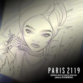 Exclusive Peach Momoko Art For Bleeding Cool Backers of Paris 2119