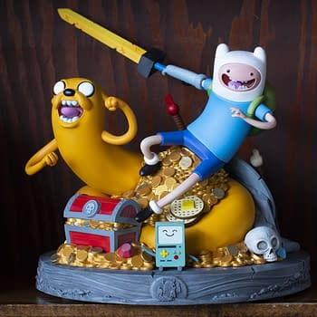Adventure Time Gets Algebraic With New Exclusive Statue from Mondo