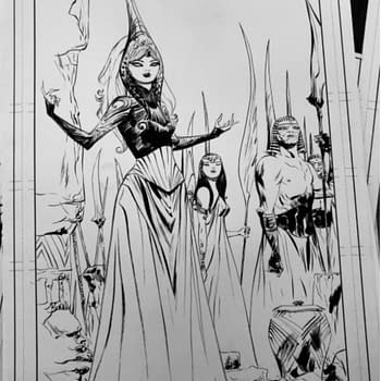 Jae Lee IndieGoGo-ing Red Sonja #13 Variant Cover