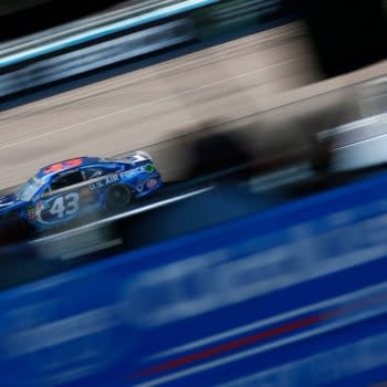 November 11, 2018 - Avondale, Arizona, USA: Darrell Wallace, Jr (43) battles for position during the Can-Am 500(k) at ISM Raceway in Avondale, Arizona. (Grindstone Media Group / Shutterstock.com)