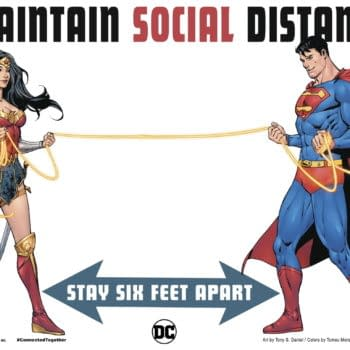 Tell The Truth Superman - Are You Socially Distancing?