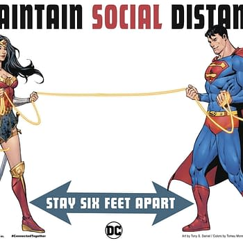 Tell The Truth Superman Are You Socially Distancing