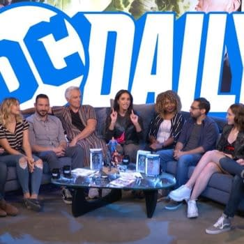 A look at DC Daily, with image courtesy of DC Universe.