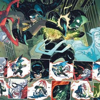 Detective Comics #1027 Tiny Peek With Rossmo Reis Mora and Zdarsky