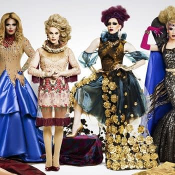 Behold the assembled contestantsof RuPaul's Drag Race All Stars, Season 2