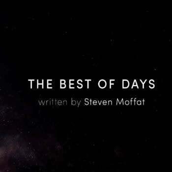 """Here's a look at the title card for Doctor Who, """"The Best of Days"""" (Image: BBC/Doctor Who Lockdown)"""