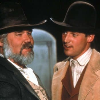 The Gambler (CBS) TV Movie, 1980 Directed by Dick Lowry Shown from left: Kenny Rogers (as The Gambler), Bruce Boxleitner