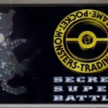 """Rare Super Secret Battle """"No. 1 Trainer"""" Pokémon Card On Auction"""