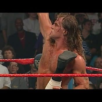 HBK Remembers Diesel Using Mad Dog Vachon's Leg at In Your House 7