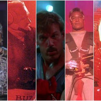 Ranking The Bad Guys From Schwarzenegger Film The Running Man