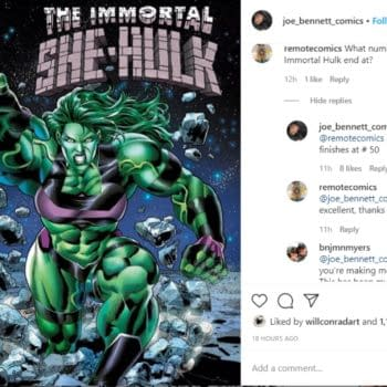 Immortal Hulk to End With Fiftieth Issue