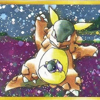 Extremely Rare Grade 9 Mint Kangaskhan Pokémon Card Up For Auction