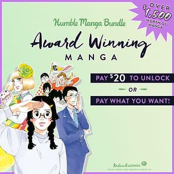 Kodansha Offers Eight Award-Winning Full Series On Humble Bundle