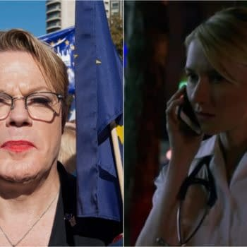 Eddie Izzard and Valorie Curry are joining NBC's Langdon pilot (Image: Left- Karl Nesh & Shutterstock.com / Right- Amazon Prime)