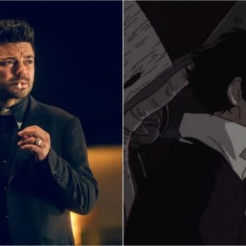 A look at live-action series that would make great anime, lile Preacher with a Cowboy Bebop vibe (Images: AMC/Sunrise)