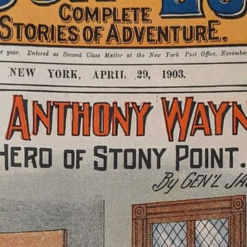 THE ISSUE: Mad Anthony Wayne and Batman