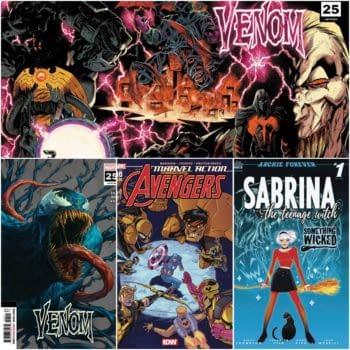 Venom #25, Yellow Hulk and Sabrina Get Second Printings