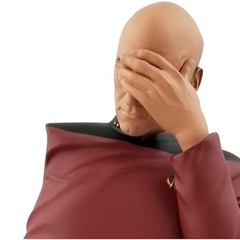 Star Trek Facepalm Picard Arrives at Diamond Select for SDCC 2020