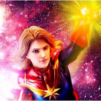 Captain Marvel Gets New Woman of Marvel Statue from Kotobukiya