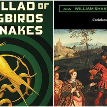 Comparing the Hunger Games prequel book and Shakespeare's Coriolanus