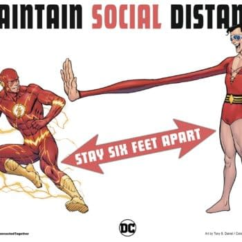Plastic Man Can't Make Social Distancing Work Either