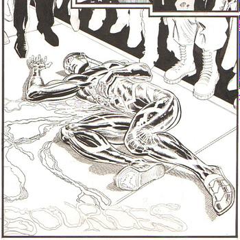 Tom King and Trevor Von Eedens Unpublished Black Lives Matter Comic