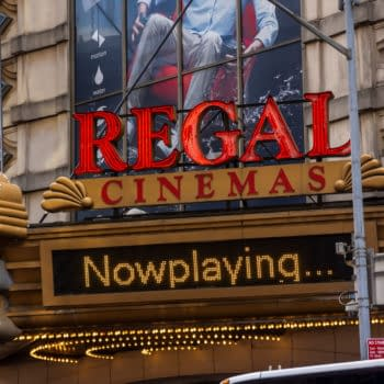 New York NY/USA-January 5, 2020 The Regal Cinemas in Times Square in New York. Editorial credit: rblfmr / Shutterstock.com
