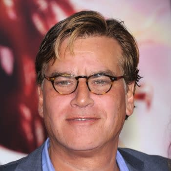 "Aaron Sorkin arrives to the ""The Hunger Games: Catching Fire"" Los Angeles Premiere on November 18, 2013 in Los Angeles, CA. Editorial credit: DFree / Shutterstock.com"