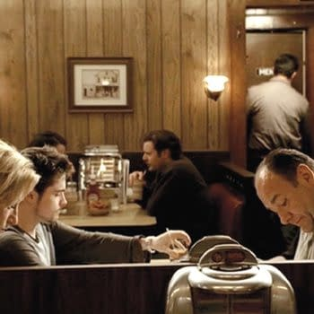 A look at the final scene from HBO's The Sopranos (Image: WarnerMedia).