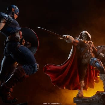 Taskmaster Gets Tactical with New Sideshow Marvel Statue