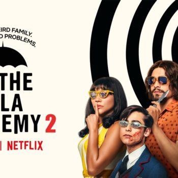 The poster for The Umbrella Academy season 2 (Image: Netflix)