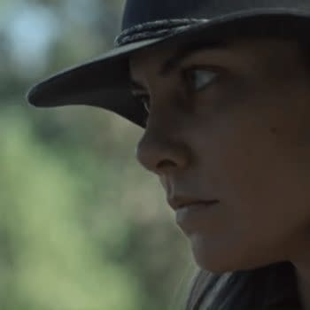 Maggie returns to The Walking Dead (Image: AMC).