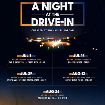 Michael B. Jordan Amazon Studios Team Up For A Night At The Drive-In