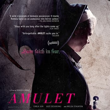 Watch The Trailer For Chilling FIlm Amulet Coming July 24th