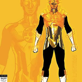 Gold Lantern Gives Legion Of Super-Heroes a 2nd Print and 1:25 Cover