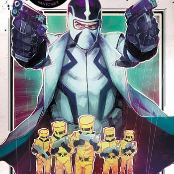 Jonathan Hickman Goes Giant-Sized with Fantomex #1