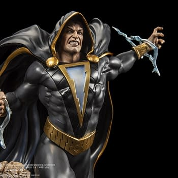 Black Adam Wreaks Havoc In the Next XM Studios Statue