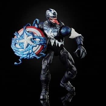 Marvel Legends Venomized Captain America Becomes Walmart Exclusive