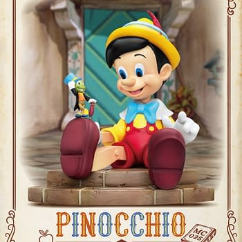 Disneys Pinocchio is Back With New Beast Kingdom Statue