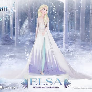 Frozen II Elsa Gets a Master Craft Statue From Beast Kingdom
