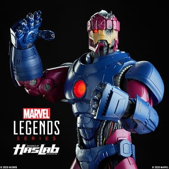 Marvel Legends Sentinel Hits 8000 Backers: Battle Damage Parts