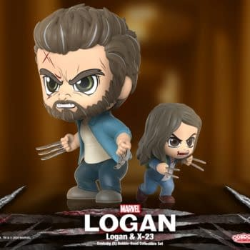 Logan and X-23 Join The Hot Toys Cosbaby Line