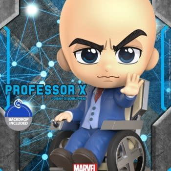 X-Men Professor X and Magneto Get Hot Toys Cosbaby Figures